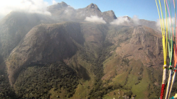Mountain Peaks to the East of Thuchila Valley